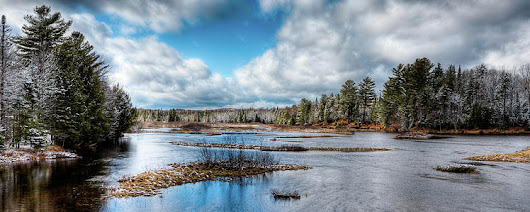 Moose River Solitude by David Patterson
