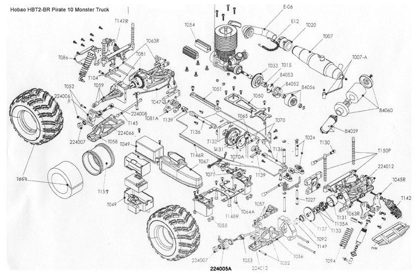 Wiring Diagram: 35 Traxxas T Maxx 25 Parts Diagram