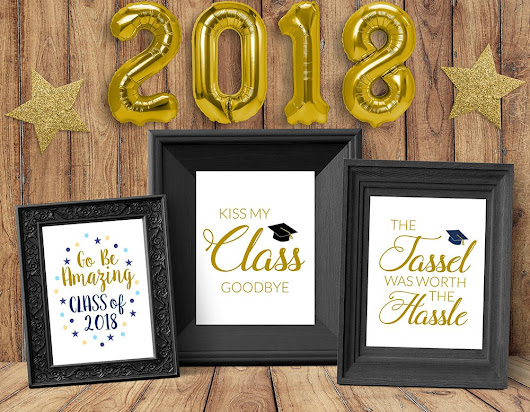 Celebration Quotes: Graduation Printables for Party Decor