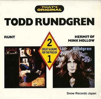 RUNDGREN, TODD runt / hermit of mink hollow