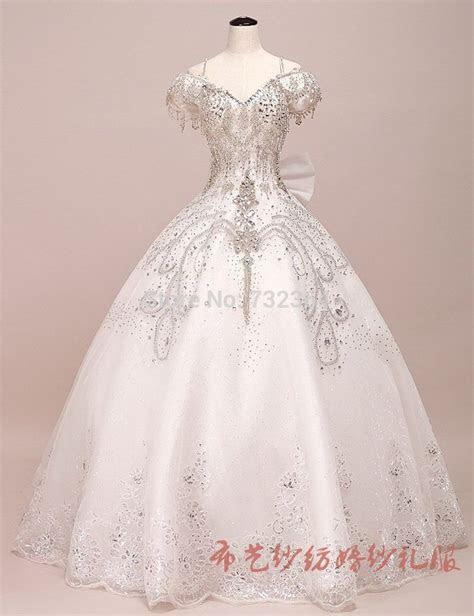 full rhinestone beading princess medieval ball gown