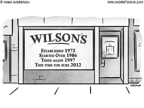 doing business business cartoon