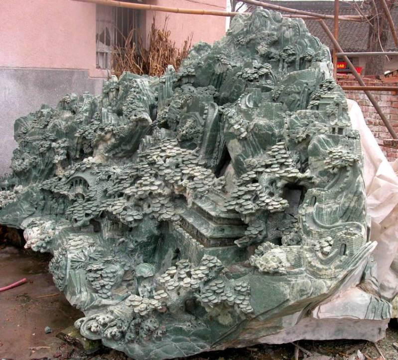 jade carvingsjade carving garden sculpture photo image