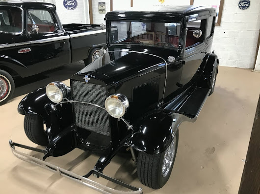 1931 Chevy 2 Door Sedan Hot Rod - Miles Through Time