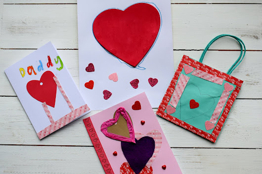3 Easy Valentine's Day Crafts with kids | Suburban Mum
