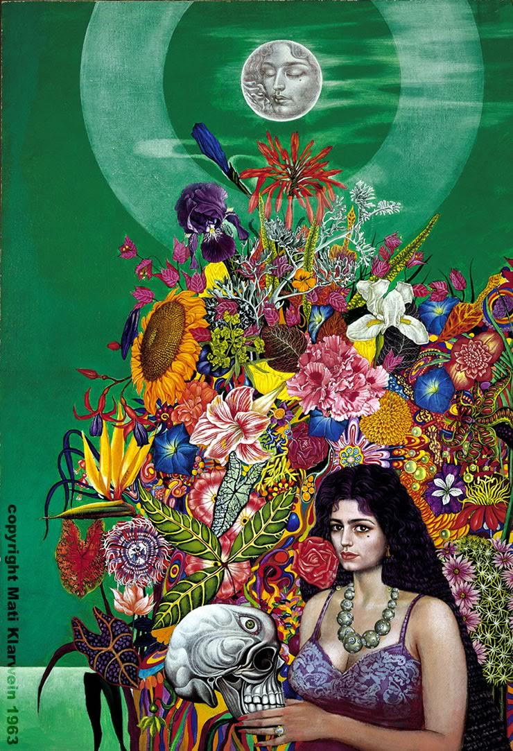 Eve - visionary art by Mati Klarwein - 1963