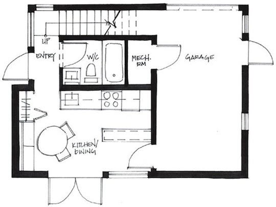 500 square foot Small House