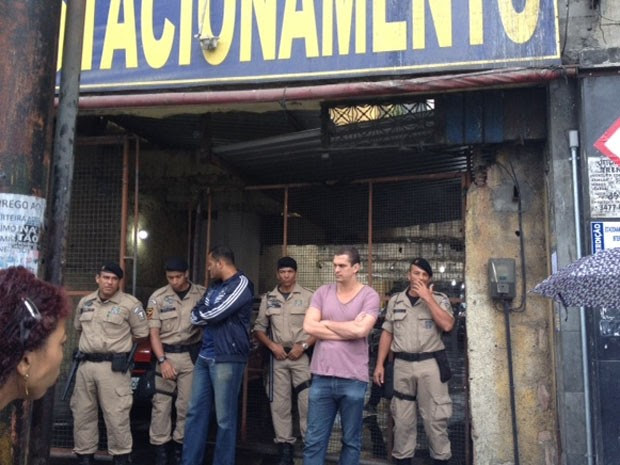 Homem que agrediu secretário de Ordem Pública do Rio volta para encontrá-lo. (Foto: Alba Valéria Mendonça/RJ)