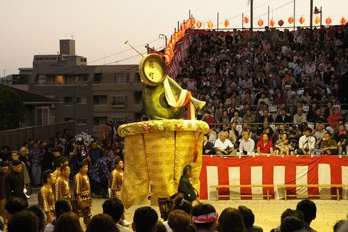 長崎くんち2012・籠町・傘鉾