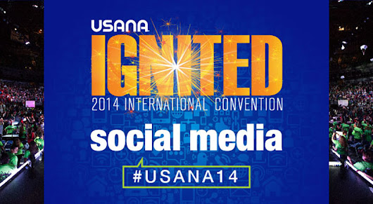 #USANA14: First-Class Social Media Ticket