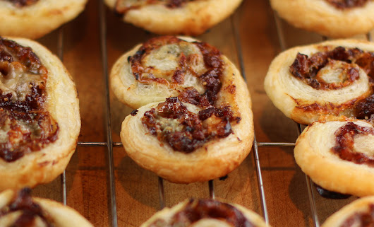 Fig Bacon and Blue Cheese Palmiers - Have You Eaten, SF?