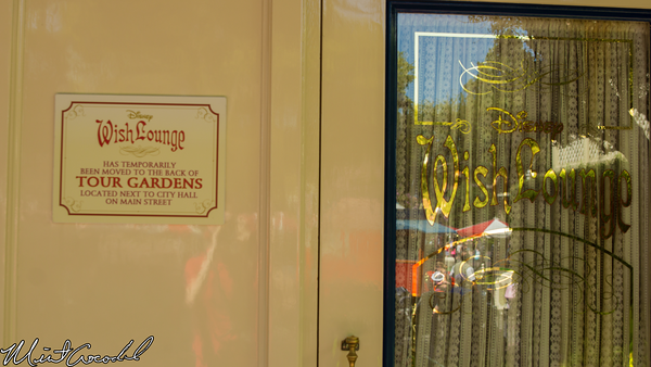 Disneyland Resort, Disneyland, Main Street U.S.A., First Aid, Wish Lounge
