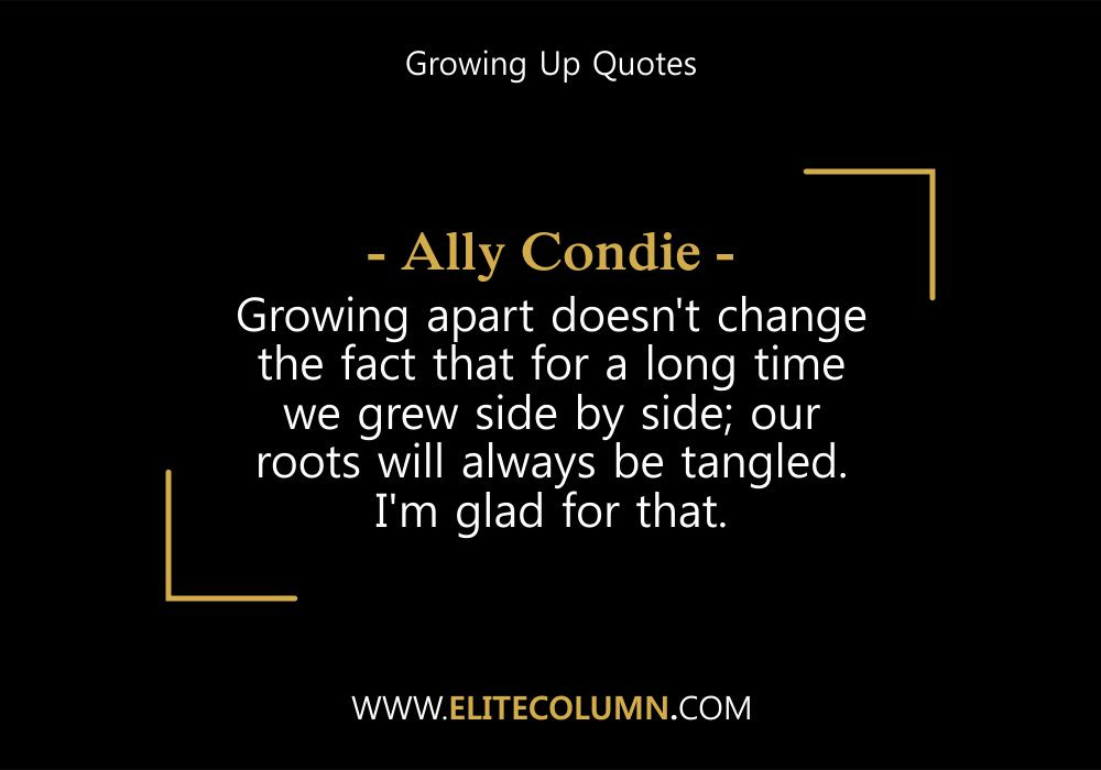 Time To Grow Up Quotes Grow Up Quotes Amusing Quotes About Growing