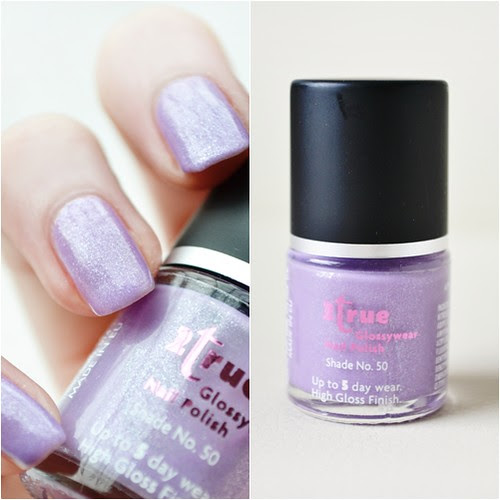 2true  glossywear nail polish shade no.50