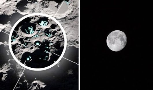 Water on the Moon: NASA discovery observes 'moving water' on Moon's surface | Science | News |