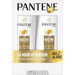Pantene Pro-V Daily Moisture Renewal Shampoo and Conditioner Bundle - 24.6 fl oz