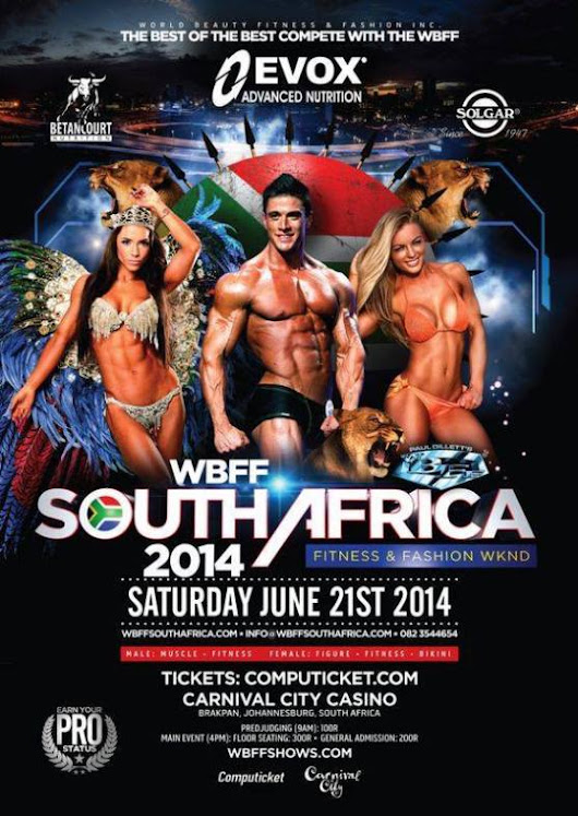 WBFF South Africa: A night to remember