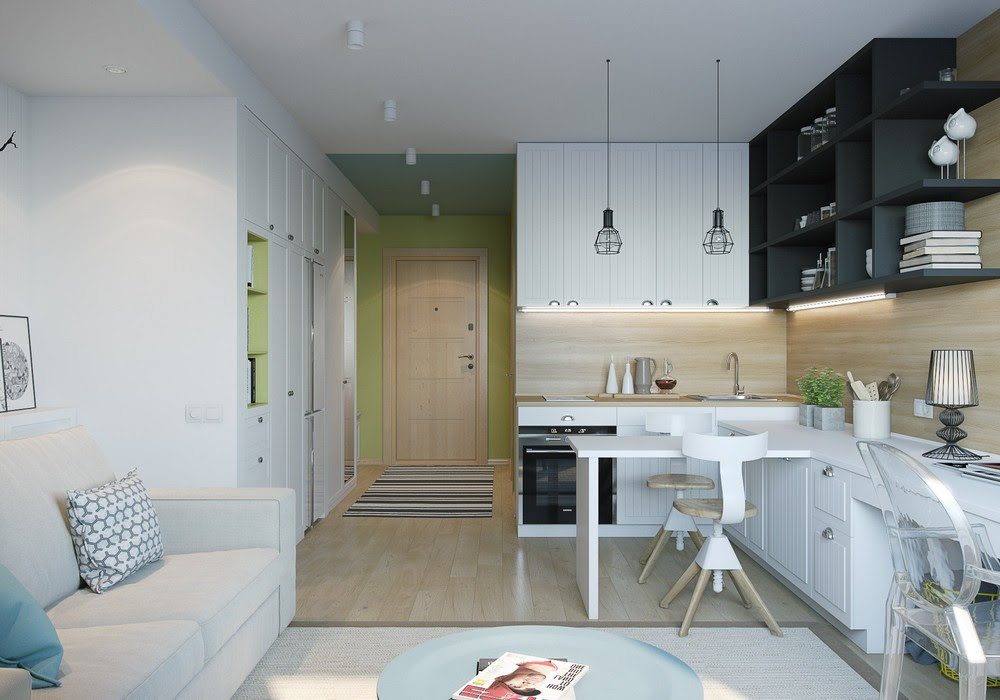 4 Inspiring Home Designs Under 300 Square Feet With Floor Plans