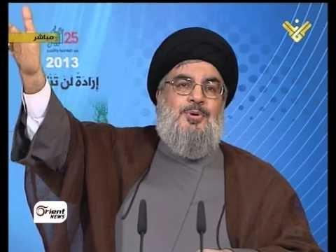 فيديو يوتيوب : كلمة حسن نصر الله لبنان اليوم 25/5/2013 ، ملخص الكلمة التى القاها