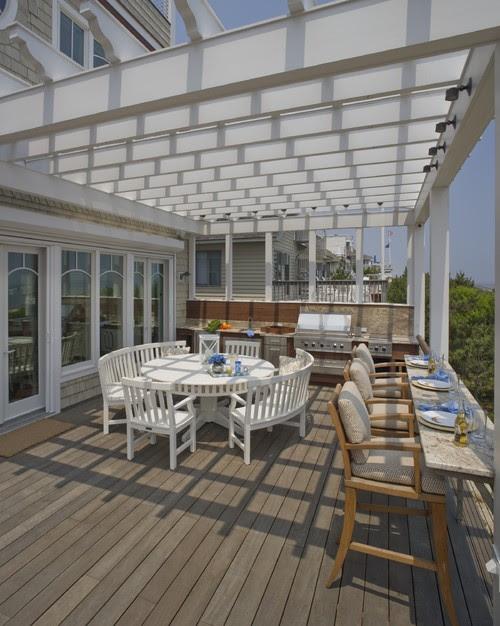 Beach House contemporary patio