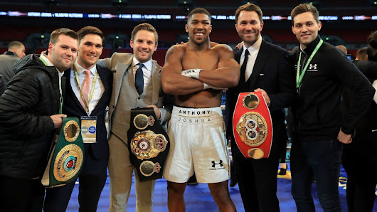 Anthony Joshua's next title defence expected to be against Kubrat Pulev in Cardiff on October 28