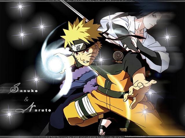 Naruto Wallpapers - Sasuke and Naruto Dark