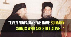 Fr.  Aimilianos de Simonopetra - Os santos vivem agora entre nós