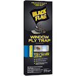 Black Flag Window Fly Trap - 4 pack