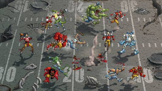 Mutant Football League misses funding goal, but work on the title will continue
