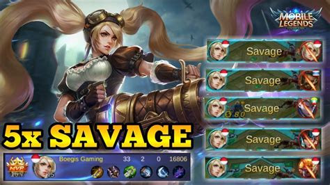 gambar mobile legend savage mewarnai gambar
