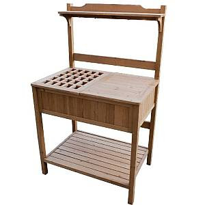 Potting Bench with Recessed Storage - MPG-