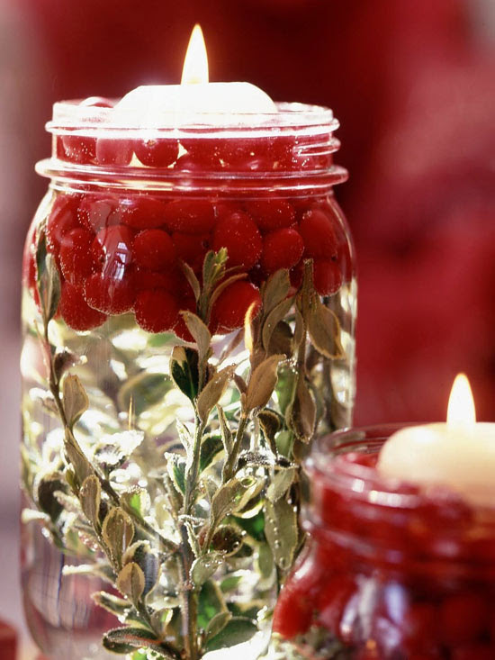 Illuminating Holiday Jars