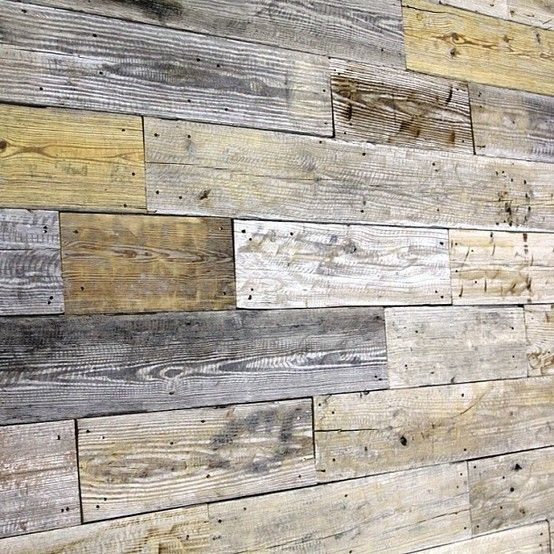 Unique Reclaimed wood wall City & Architecture