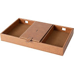 Cathy's Concepts Personalized Men's Valet Charging Station - Brown x