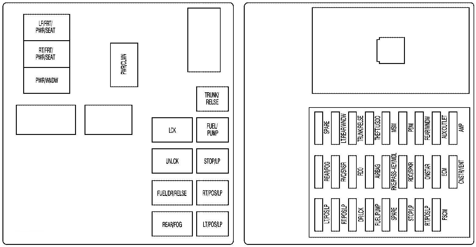 Cadillac Cts 2009 Fuse Box Diagram Auto Genius
