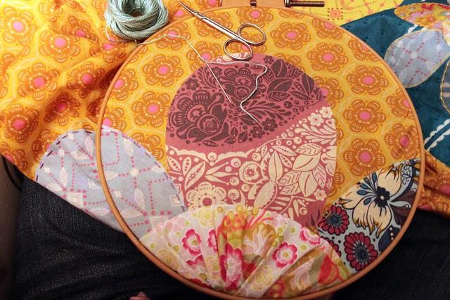 hand stitching