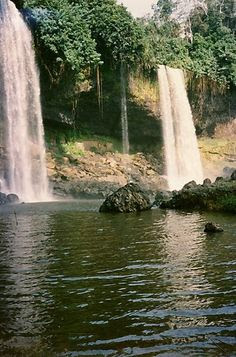 Cross Rivers Waterfalls, Nigeria.I want to go see this place one day.
