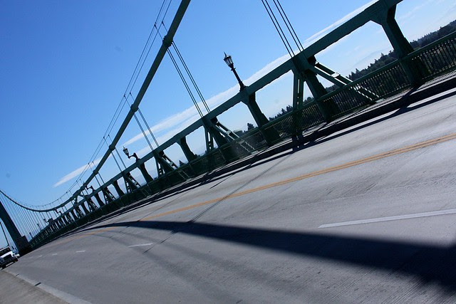 Shadows, St. Johns Bridge