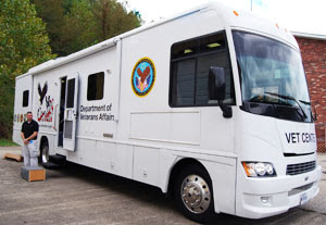 Counseling sessions are one of the most important resources available at the Mobile Vet Centers which are equipped with videoconferencing equipment as well as WiFi and DVD hardware.