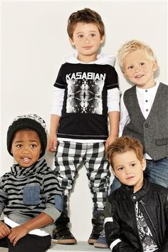 Buy Black Kasabian Short Sleeve T-Shirt (3mths-6yrs) from the Next UK online shop