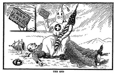 From ''Klansmen: Guardians of Liberty'', 1926. Published by the Pillar of Fire Church in Zarephath, NJ. Copyright was not renewed.