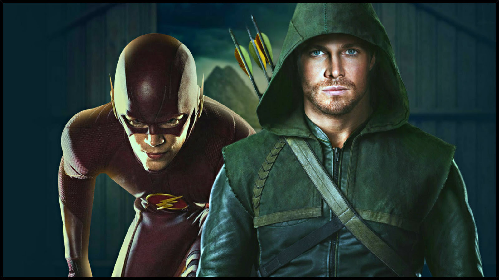 The Flash And Arrow Crossover The Flash Cw Wallpaper 37771514
