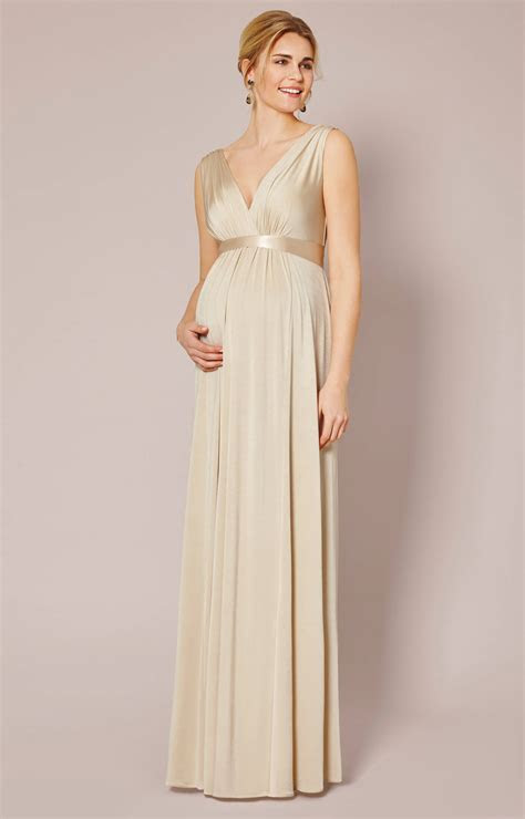 Anastasia Maternity Gown (Gold Dust)   Maternity Wedding