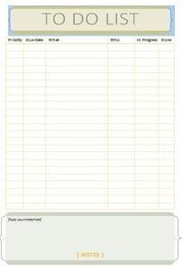 Editable Checklist Archives - Free Sample Templates