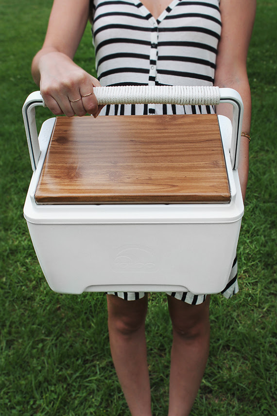 diy modern and very cool cooler  | almost makes perfect