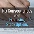 Exercising Stock Options Tax Consequences
