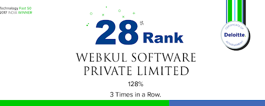 Webkul selected to Deloitte Technology Fast50 India 2017