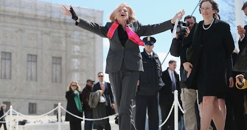 In the US, same sex partners can marry thanks to Edith Windsor, and the 2013 Supreme Court. R.I.P., ...