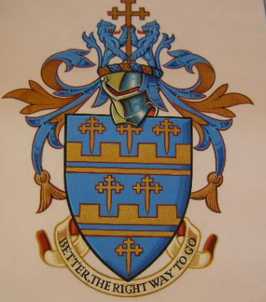 The armorial bearings of Geoffrey Frank Pearce
