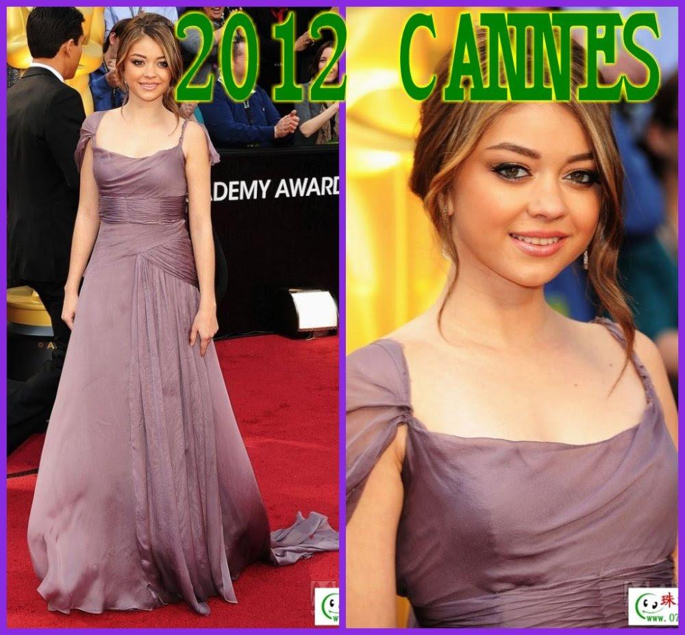 Red carpet evening dresses 2012